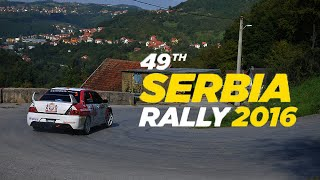 "49th Serbia Rally 2016 - ""Best Of"" Edit"