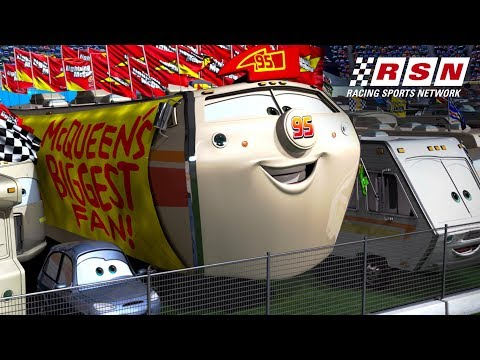 Lightning McQueen's Biggest Fans | Racing Sports Network by Disney•Pixar Cars