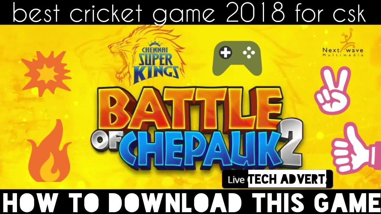 Chennai Super Kings 2 Game 2018 Download in Android|best