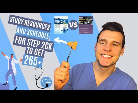 Step 2 CK Study Resources & Schedule| HOW TO SCORE 265+