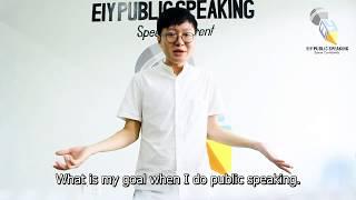 EIY - Luu - Why do I practice Public Speaking?
