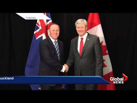 Harper tells Putin to get out of Ukraine