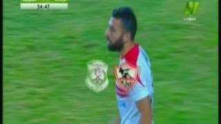 بالفيديو.. أحمد رفعت يعزز تقدم الزمالك أمام الشرقية