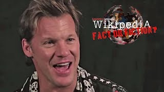 Chris Jericho - Wikipedia: Fact or Fiction? (Part 1)