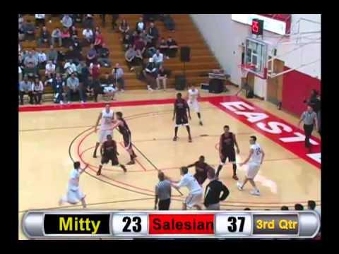 Basketball: Archbishop Mitty vs. Salesian - Full BayPreps Broadcast - December 22, 2012