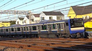 JR E235系1000番台 横須賀線(戸塚)  /   JR E235-1000 series Yokosuka Line  Totsuka.Kanagawa【でんしゃしん 動画】