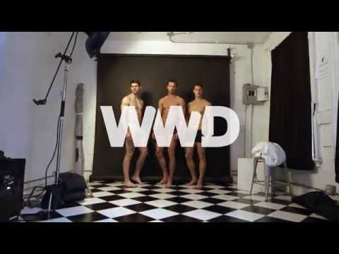 Behind the Scenes at the WWD Athletic Underwear Trend Shoot