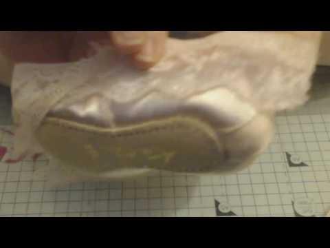 Ballet Shoe Kit from Scrimpys Lace Closet Part 1