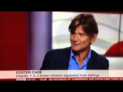 Richard Farleigh on BBC talked about being fostered and pro