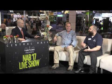 NAB Live Show 2017 - Michael Artsis with Litepanels and Atlas Lens Co.