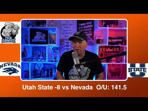 Utah State vs Nevada 2/28/21 Free College Basketball Pick and Prediction CBB Betting Tips