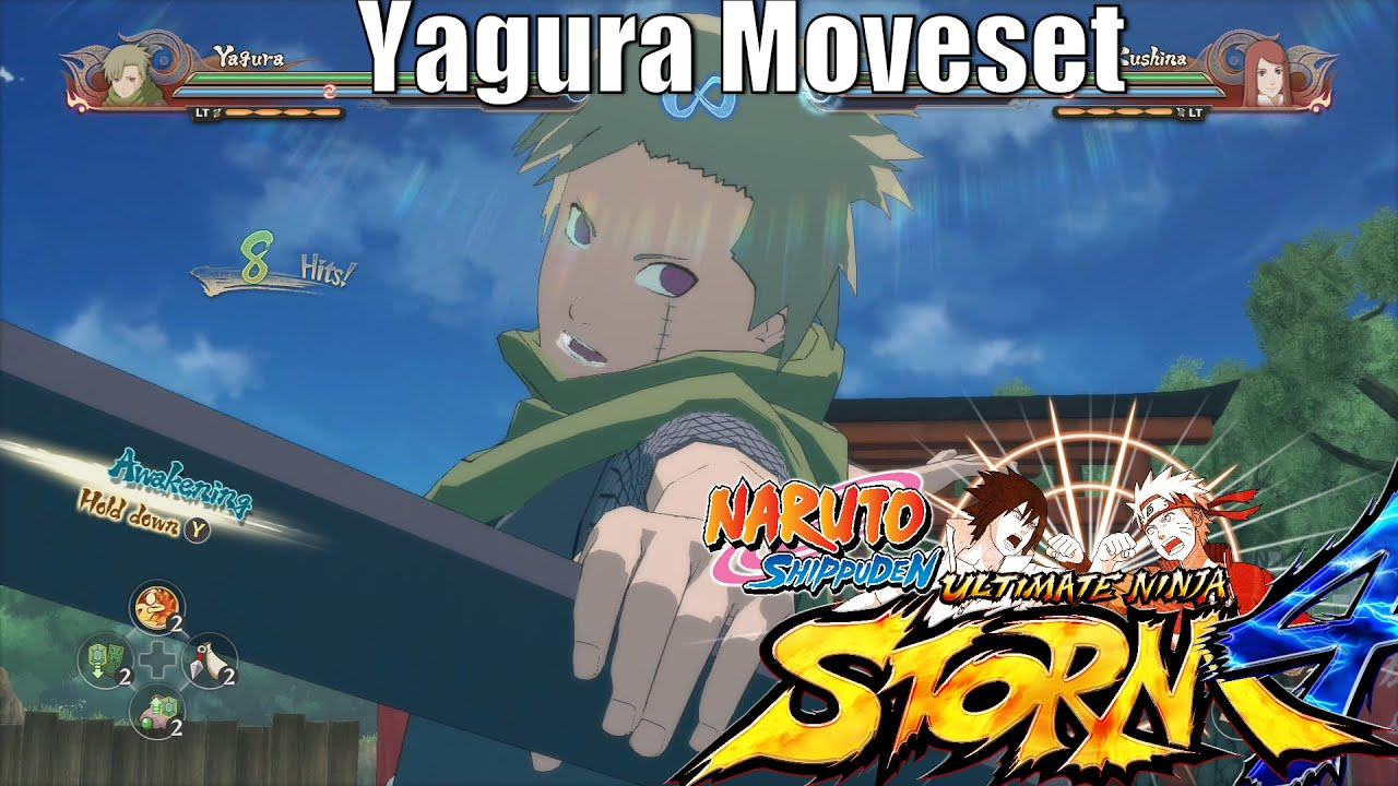 Yagura (Three Tails Jinchuriki) (Isobu)「Moveset」1080p Full ... Yagura Three Tails