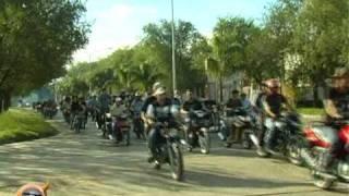 MOTOENCUENTRO BASAVILBASO ENTRE RIOS 2010 - EL SOL TV - CARAVANA POR LA CIUDAD