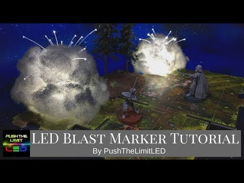 Star Wars Legion: LED Blast Marker Tutorial by PushTheLimitLED
