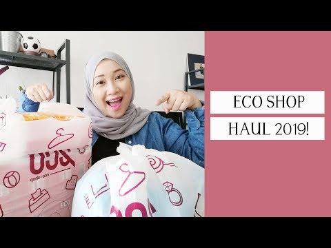 (MUST WATCH) ECO SHOP RM2 HAUL | FEB 2019