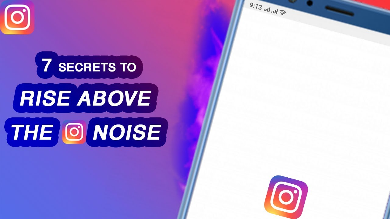 How To GROW on Instagram at XTREME Speed (RISE ABOVE INSTAGRAM NOISE)