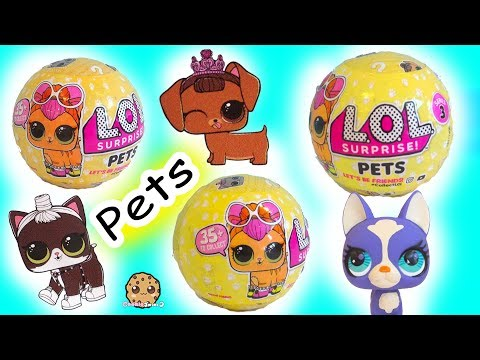 Thumbnail: LOL Surprise Pets Blind Bag Balls - Litter Box Sand Poop, Pee , Cry , Color Change ?