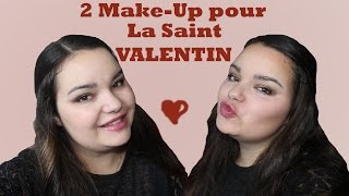 [Saint-Valentin 2016 n°1]: 2 Make-Up 100% TOO FACED + 1 coiffure ♡