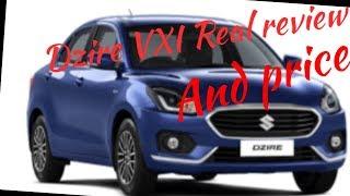Maruti Suzuki Dzire VXI Real review interior and exterior