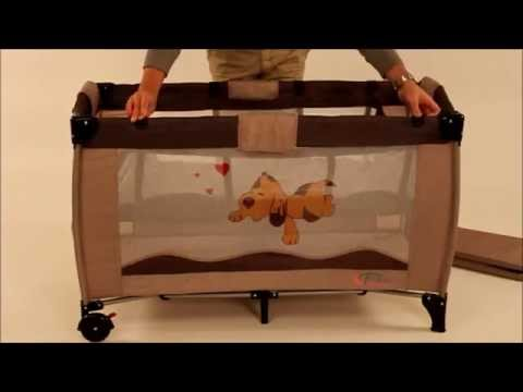 Betere TecTake - Assembly Instruction - Travel Bed - YouTube DG-28