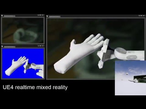 UE4 Realtime Mixed Reality Plugin
