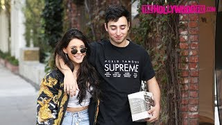 Madison Beer & Zack Bia Speak On Lil Peep & Lil Pump While Shopping On Melrose Place 12.18.17