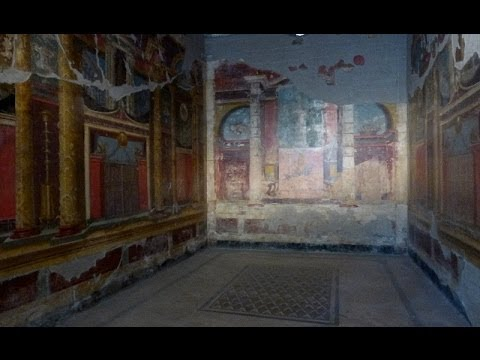 Villa di Poppaea, Oplontis -  Emperor Nero's wife's residence near Pompeii