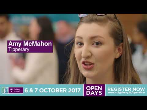 NUI Galway Undergraduate Open Day October 2017