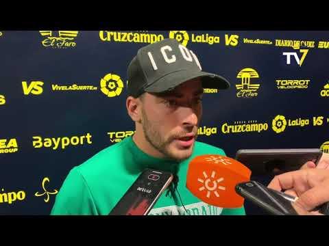 Salvador Agra tras Cádiz-Espanyol de Copa del Rey (01-11-18)