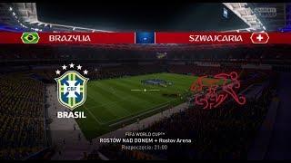 MŚ 2018 | World Cup 2018 | Brazylia - Szwajcaria | Brazil - Switzerland | FIFA 18