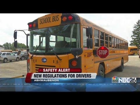 NBC26 Live at 5:00 - New School Bus Warning Light Regulation