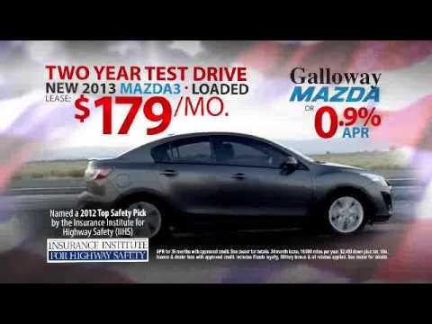Sam Galloway Mazda Presidents Day Sales Event -- Mazda3 - YouTube