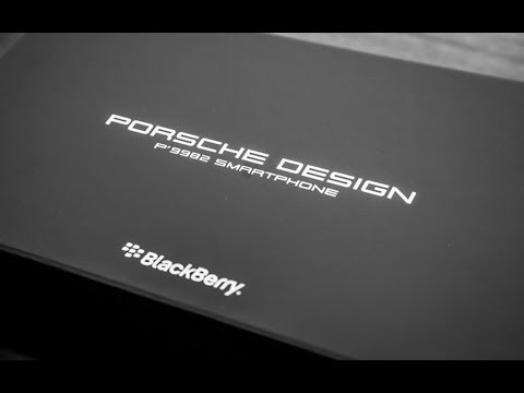 BlackBerry Porsche P'9982 Unboxing First Look