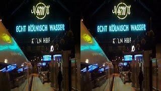 3D video 4K - Köln - Hauptbahnhof - YT3D - TV