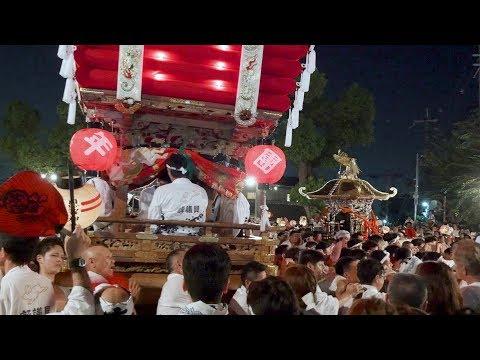 Onji shrine summer festival 2016, Osaka Japan - 4K Ultra HD