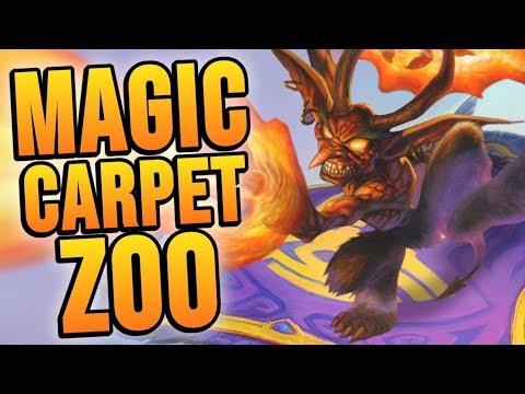 MAGIC CARPET 1⭐ ??? | Rise of Shadows | Hearthstone