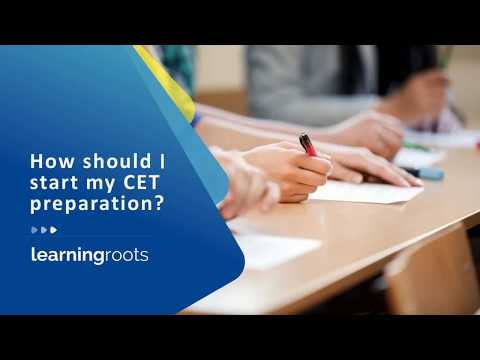 How to start MBA CET preparation