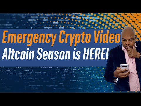 Emergency Crypto Currency Video.  Altcoin Season is HERE!