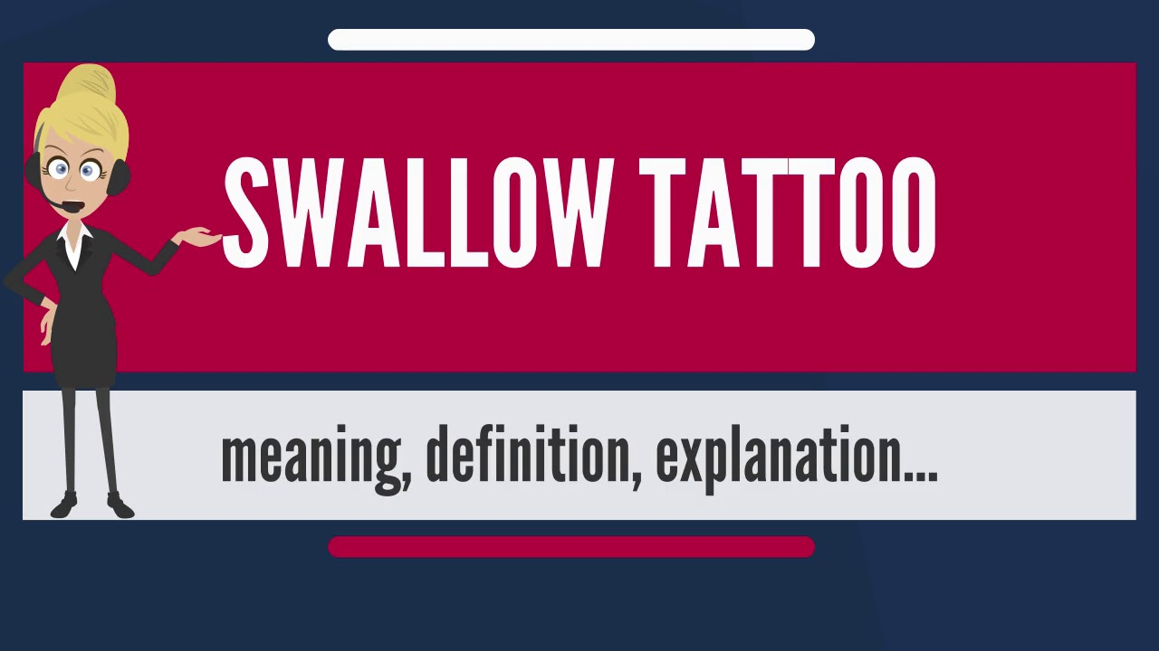 What Is Swallow Tattoo What Does Swallow Tattoo Mean Swallow
