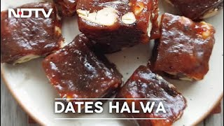 How To Make Dates Halwa | Easy Dates Halwa Recipe Video