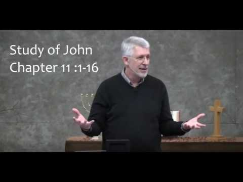 John 11 (Part 1) :1-16 - The Death of Lazarus