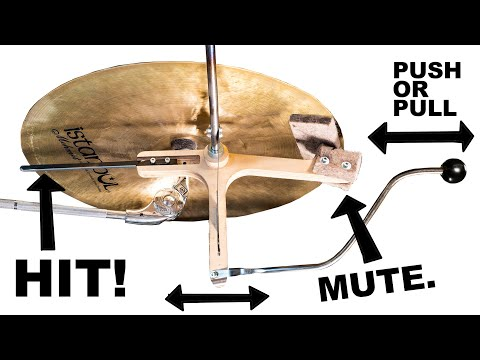 One Day Build: Cymbal Hitter/Damper - Marble Machine X #92