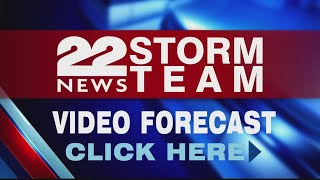 Evening Video Forecast 8/13/18