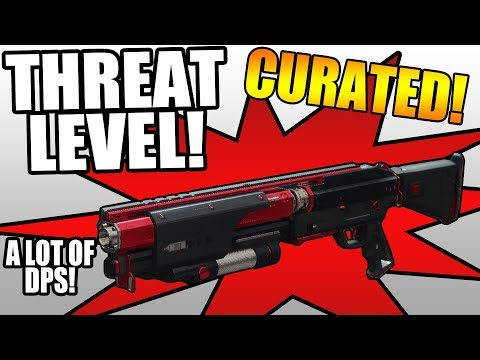 CURATED THREAT LEVEL! | Funny Destiny 2 Black Armory Gameplay