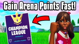 How To Get 1000+ Arena Points PER DAY! - Fortnite Battle Royale