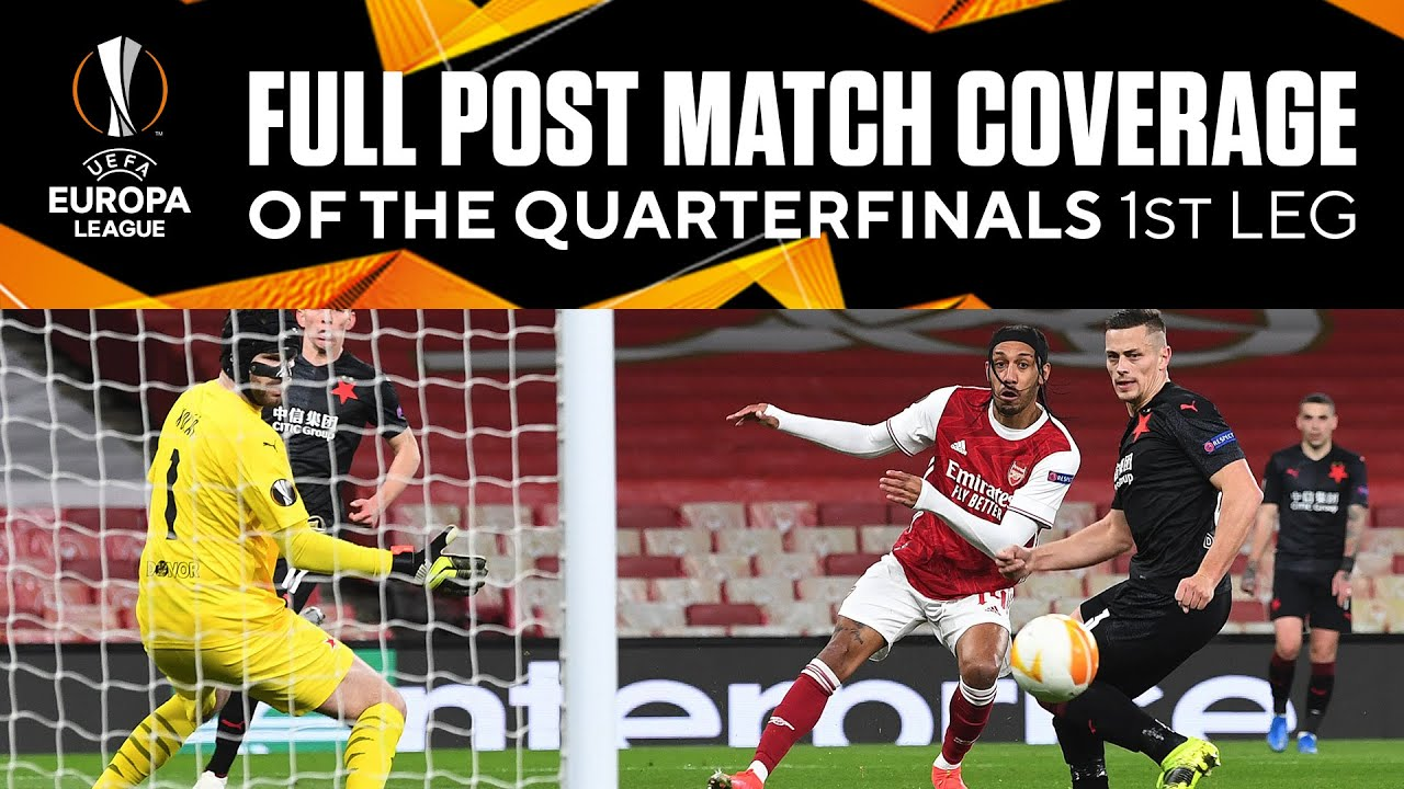 Full Post Match Coverage of the Europa League Quarterfinals - 1st Leg | UCL on CBS Sports
