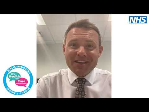 A message from Adam Doyle, lead for the Sussex Health and Care Partnership