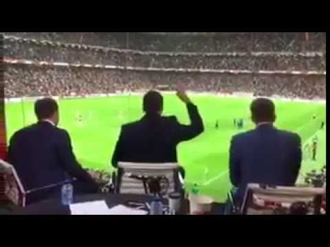 Rio ferdinand live reaction to manchester united winning europa league