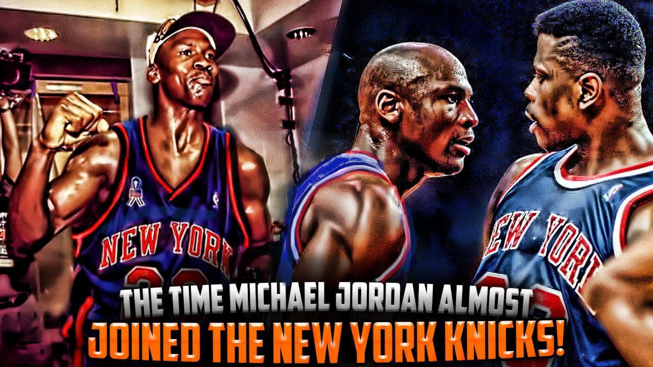 Destilar Orador Tigre  The Time Michael Jordan Almost JOINED The NEW YORK KNICKS! - YouTube