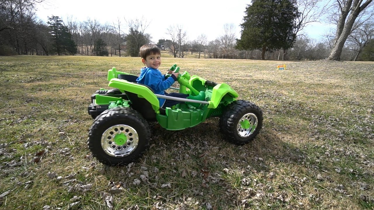 Power Wheels Dune Racer Extreme 12 Volt Battery Powered Ride On